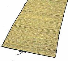 Strandmatte 180x60cm Bastmatte gerollt Badematte Bast Strand Sand Urlaub Badematte Matte