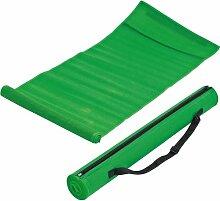 Strandmatte in trendigen Farben mit Tragegurt (grün)