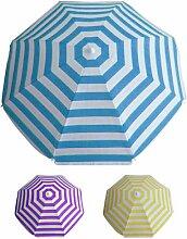 Strandschirm Fantasie Linien Durchmesser 200 cm verschiedene Farben