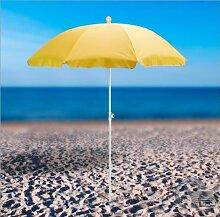 Strandschirm gelb 180 / UV30