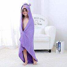 Strandtuch für Kinder, 100 % Baumwolle, für