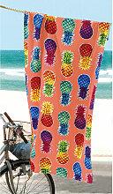 Strandtuch Pineapples