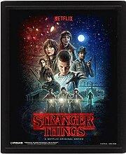 Stranger Things Bilderrahmen 3D 28,7 x 23,5 cm
