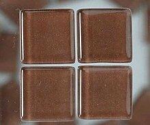 Strass, Mosaik aus Glas 2 cm / 200g Braun, Efco,