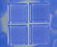 Strass, Mosaik aus Glas 2 cm / 200g hellblau,