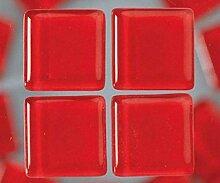 Strass, Mosaik aus Glas 2 cm / 200g Rot, Efco,