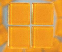 Strass-Mosaik-Glas 1cm / 200g Orange, Efco, 1x1cm,