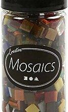 Strass-Mosaik-Glas 1cm / 454g Farbe Mischen,