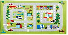 Straßenteppich Bobby Car | Spielteppich Straße