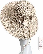 Straw hat Frau Sommer Strand Cap tide Sonnenschirm