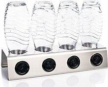 Streambrush Premium Abtropfhalter aus Edelstahl
