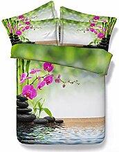 StreamSide Blumen und Gartenschaukel 3D Quilt Satz
