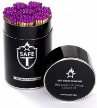 Streichhölzer DNC Tag purple