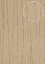 Streifen Tapete Atlas COL-566-6 Vliestapete glatt