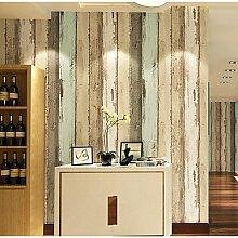 Streifen Tapete für zu Hause Moderne Wand CoveringNon-Gewebe Material Kleber erforderlich, Wallpaper, Gelb
