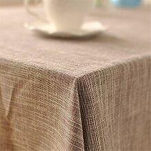 Streifen Tischdecken minimalistischen Tischdecke