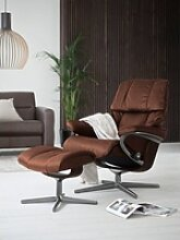 Stressless® Relaxsessel Reno, mit Cross Base,