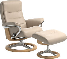 Stressless RELAXSESSELSET Nordic , Creme , Holz,
