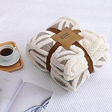 Stretch Baumwolle Wolldecke coral Fleece baby Decke sofa Decken nap Decken, Schals und, 130 * 160 cm, 2 Freizeitaktivitäten