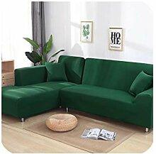 Stretch-Sofa-Überzug L-Form für Wohnzimmer,