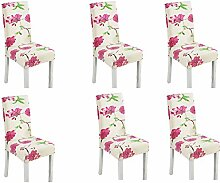 Stretch Spandex Dining Room Chair Protector,