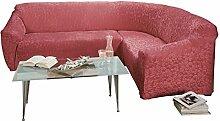 Stretchbezug bordeaux Größe Sessel