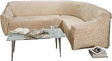 Stretchbezug natur Größe Sessel