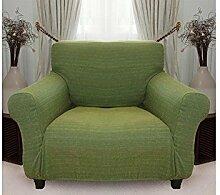 Stretchhusse (grün) hussen für sessel 1 sitzer - sofahusse
