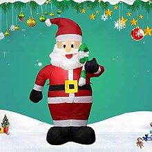 strety Aufblasbarer Weihnachtsmann, 12V Yard Decor