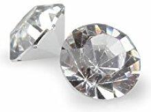 Streudiamanten Polyresin 50gr. Acryl , klar ca. D:0,8cm