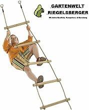 Strickleiter 10 Holzsprossen, Länge: 350 cm von Gartenwelt Riegelsberger