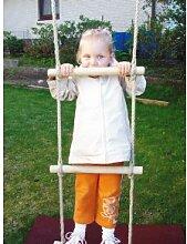 Strickleiter / Sprossenleiter aus Holz mit 5 Sprossen - Länge ca. 2,1m