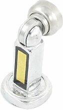 Strike Boden Tür Zuschlagen Magnethalter Stopper Türstopper silber Ton