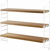 String Furniture - Pocket Regal - eiche/ weiß