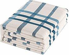 Stripe 100% Baumwolle spannbettlaken,Grobes Tuch