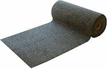 Striped Professional Korridor Decke Walkway Grau Eingangshalle Tür Eingang Teppich Tisch Teppich (Brauchen Sie ein paar Meter, um ein paar Artikel zu kaufen)