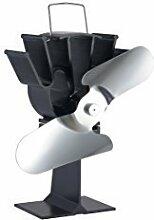 Stromloser Kaminofen Ventilator Gebläse für Ofen Holzofen Ofenventilator Stove Fan