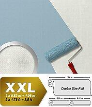 Struktur Tapete EDEM 375-60 Überstreichbare Vliestapete mit Struktur dekorative Stoff Textur geometrische Textil-Fasern 26,50 qm