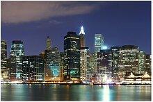 Strukturierte Fototapete Manhattan, New York
