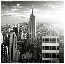 Strukturierte Fototapete Manhattan Skyline