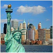 Strukturierte Fototapete New York