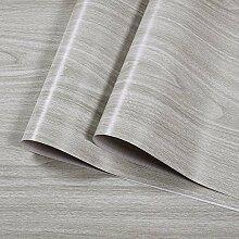 Strukturierte Grau Holzmaserung Vinyl Kontakt Papier Deko Folie selbstklebend Holz Regal Schublade Liner für Küche Schränke Tür 45x 300cm