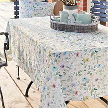 Strukturierte Matelassé-Tischdecke mit zartem