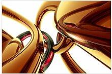 Strukturierte Tapete Atemberaubendes Gold