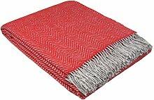 STTS International Wohndecke Wolldecke Decke Plaid