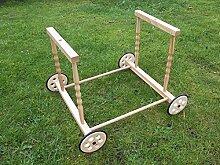 Stubenwagenuntergestell, Untergestell für Baby oder Puppenwiege
