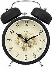 Student Mute Lazy Nachtlicht Bedside Clock Big