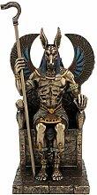 Studio Collection Statue von Anubis Gott EGYTIEN
