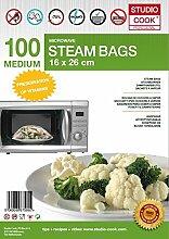 Studio Cook Dampfgarbeutel Medium - 100 Stück -