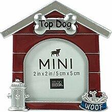 Studio Decor Mini-Bilderrahmen in Hundehausform,